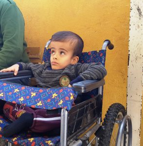 Physically disabled Syrians have the challenges compounded by the war. Pic: Salaamedia