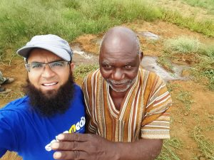 Azhar Vadi and Sheikh Sawabi share a #SalaamediaSelfie