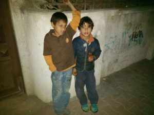 Saher and Muhammad, just two of thousands of child workers in Gaza: Pic Rana Alshami (Salaamedia)