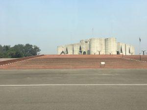 The Bangladesh parliament.
