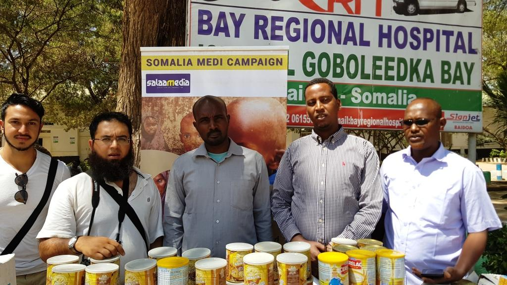 Somali children receive medical support from SA