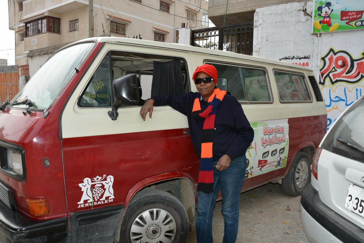 First Female Bus Driver in Gaza Makes History