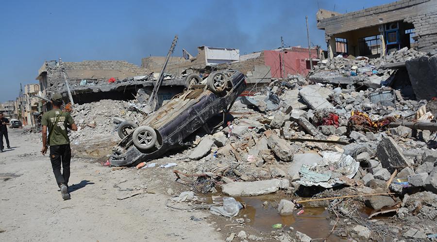 Civilians die as US target Mosul