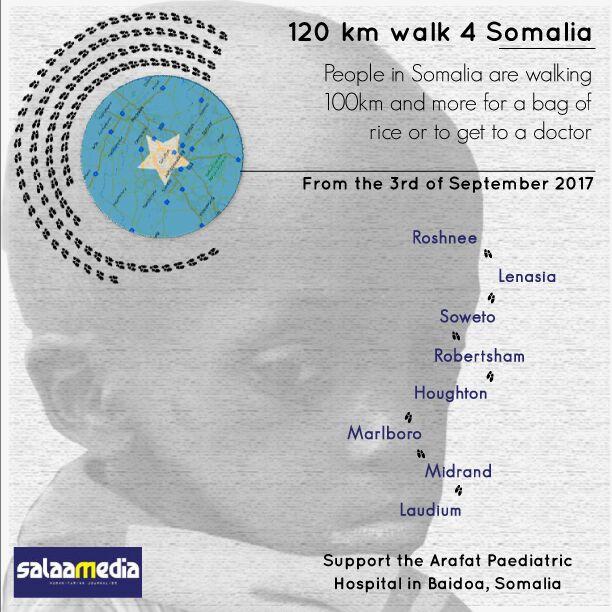 120km #Walk4Somalia