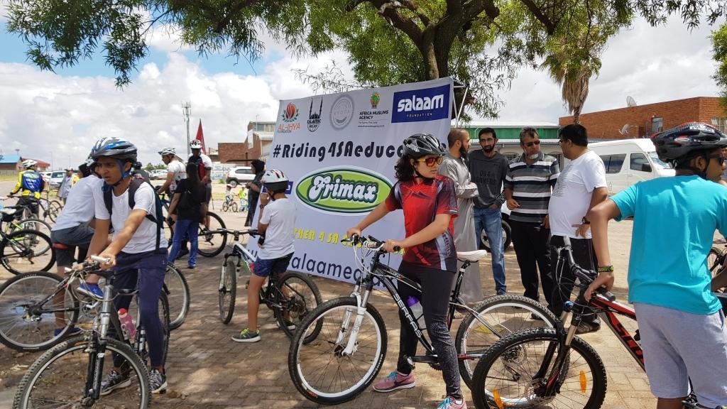 #Riding4SAeducation  Day 1 – Polokwane